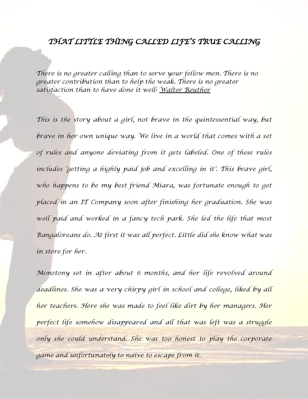 That Little thing called life s true calling-page-001