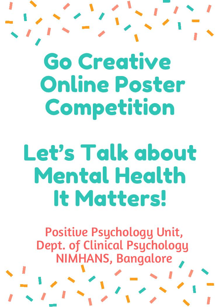 go creative online poster making competition youth spring